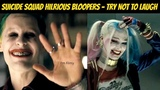 Suicide Squad Hilarious Bloopers - Try Not to Laugh - Will Smith & Margot Robbie
