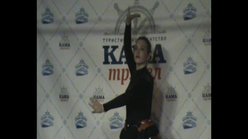 Малоснежный круиз - испанский танец