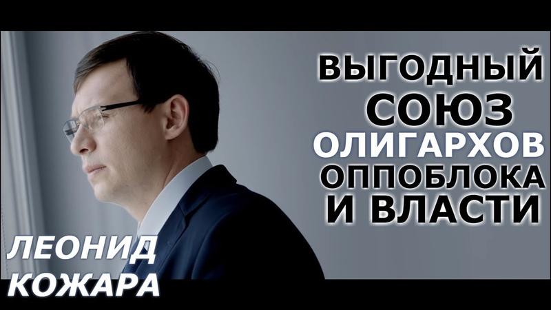 Поступок Мураева и суть оппоблока Леонид Кожара