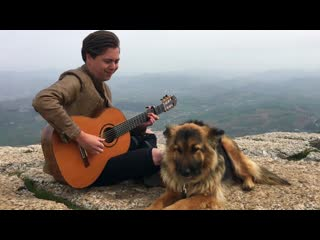 Dio - Holy Diver (Acoustic) Classical Guitar by Thomas Zwijsen