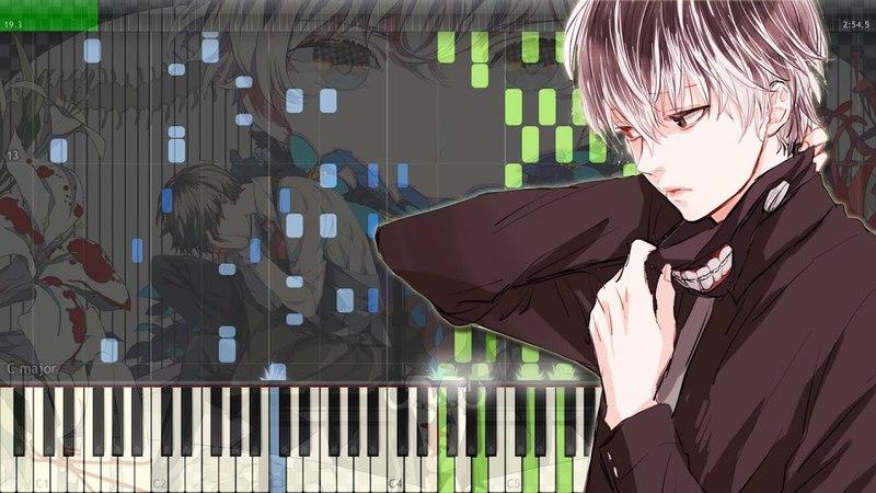 Asphyxia - Tokyo Ghoul:re OP | 東京喰種トーキョーグール:re OP ピアノ (Full) [Piano Tutorial Midi | Sheet]