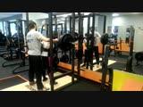 Сабина присед 120 кг на 3 раза!