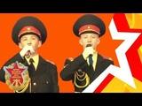 Суворовцы Антон РУДОЙ и Никита АВГУСТИНОВИЧ -