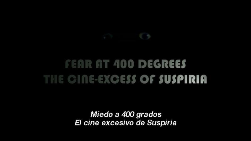 Fear at 400 Degrees: The Cine-Excess of Suspiria (Sub. Spanish)