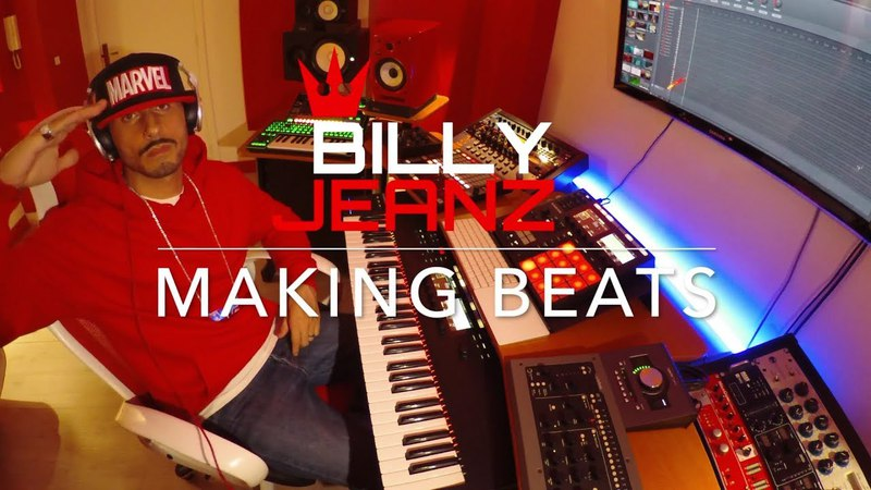 Billy Jeanz Making a ☆Movie Theme Type Beat☆ with Maschine Mk3 and Komplete Kontrol S61 Mk2