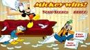 Микки Маус: Битва подушками / Mickey And Friends in Pillow Fight (Первая Битва)