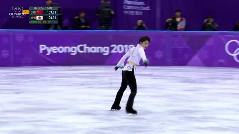 Yuzuru Hanyu (JPN) - Gold Medal _ Mens Figure Skating _ Free Programme _ PyeongChang 2018
