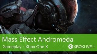 Mass Effect Andromeda - 5 minutes de gameplay en optimisé Xbox One X