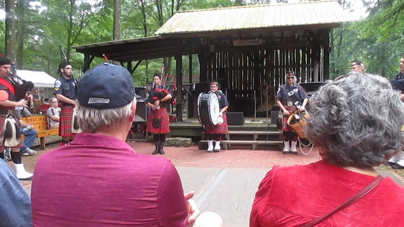 Great Trails Festival Akron District Pipe Band Part II
