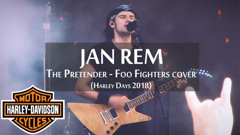 Jan Rem - The Pretender - Foo Fighters cover - Harley Days 2018