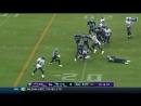 Алекс Коллинс - лучшие моменты матча - 6 неделя - НФЛ-2108 - Американский Футбол