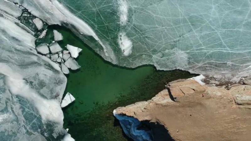 Мыс Уюга на Байкале
