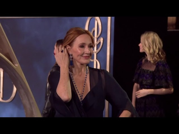 Rowling, Depp bewitch fans at 'Fantastic Beasts' premiere