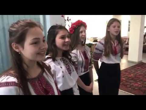 Діти з Київського обласного центру соціально-психологічної реабілітації дітей «Отчий дім»