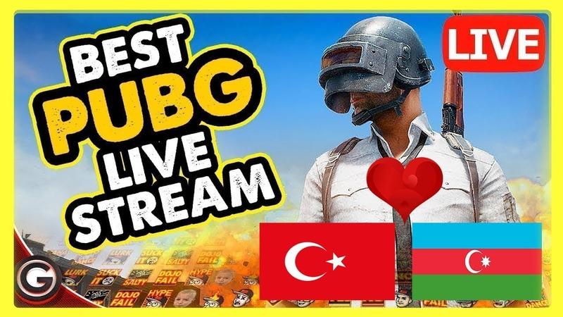 [Türk] PUBG Mobile | CUSTOM ROOM | Canlı Yayın İzle [AZE-TR]
