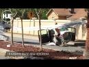 Во Флориде самолет эпично шлепнулся на дорогу