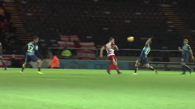 Wycombe's comeback win against Doncaster provided some fantastic commentary and even better celebrations!