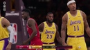 NBA LIVE 19 Houston Rockets vs Los Angeles Lakers PS4 Gameplay