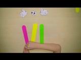 ✂️БУКВЫ ИЗ ЦВЕТНОЙ БУМАГИ✂️ как правильно сделать для детей поделки своими руками DIY