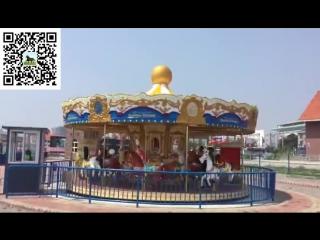 2018 Adult funfair rides good price amusement equipment carousel