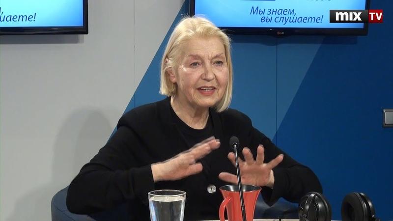 Актриса театра и кино Лилита Озолиня в программе Зеленая лампа. MIX TV