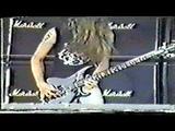 Metallica Cliff Burton (Anesthesia) Pulling Teeth Live 1986 in Copenhagen Denmark