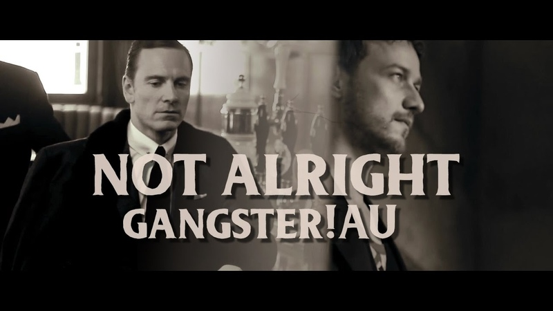 ErikCharles [cherik] - not alright - gangster!AU