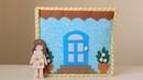 Кукольный домик Развивающая книжка Quiet book Dollhouse Felt book for girl Doll house Busy book