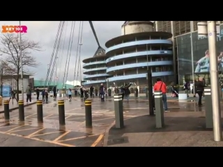All of the 172 man city fans celebrating their league title at the etihad