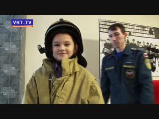 В роли спасателей и пожарных! Учащиеся школ и студенты колледжей познакомились поближе с одними из самых опасных профессий