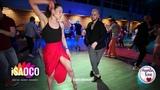 Dritriy Samonov and Olesya Petrova Salsa Dancing in Mambolove, Monday 11.06.2018