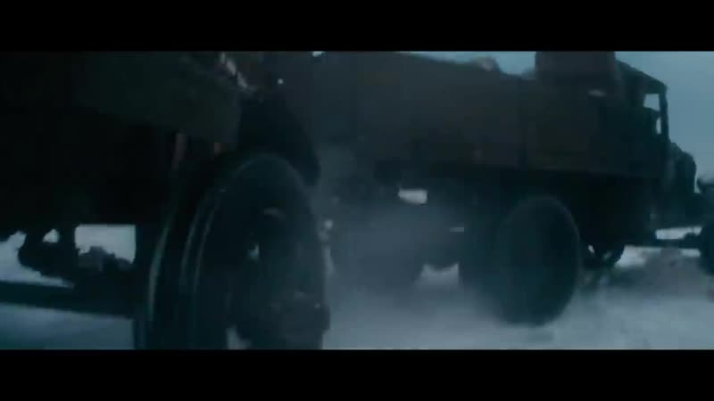 Фрагмент кино Т-34. Грузовик ЗиС-5 против фашистского танка Panzerkampfwagen-3 (Т-3)