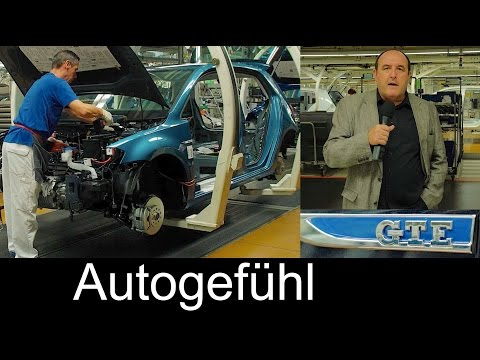 Volkswagen Wolfsburg assembly plant FEATURE electric cars production VW eGolf GTE
