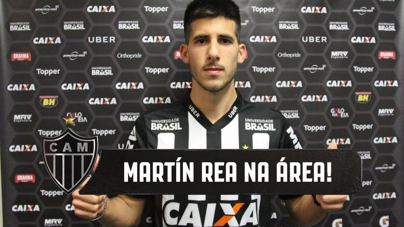 Zagueiro Martín Rea fala como novo reforço do Galo (13/08/2018)
