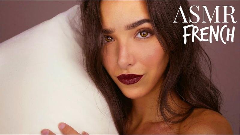 ASMR Français Traitement Doux Pour Ton Sommeil Massage cranien brosse lotion décompte