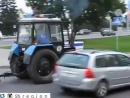 Полицейский трактор, Беларусь