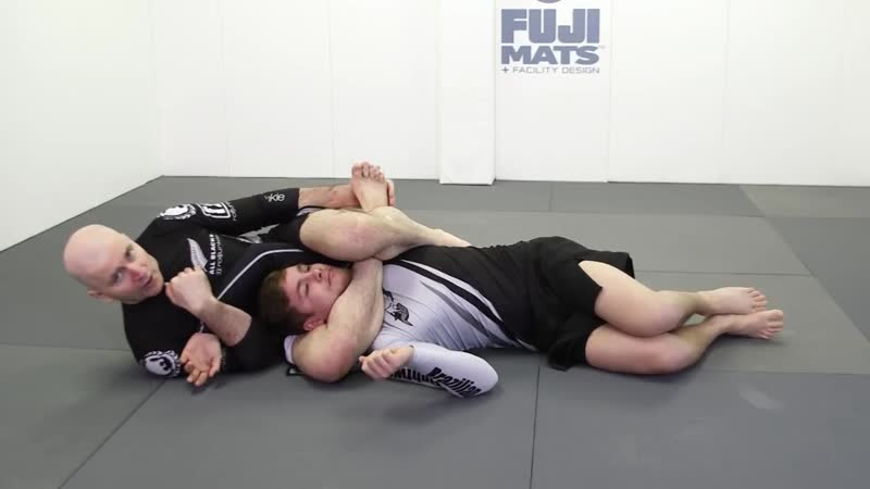 Entries Into Rear Triangle Back Position by John Danaher