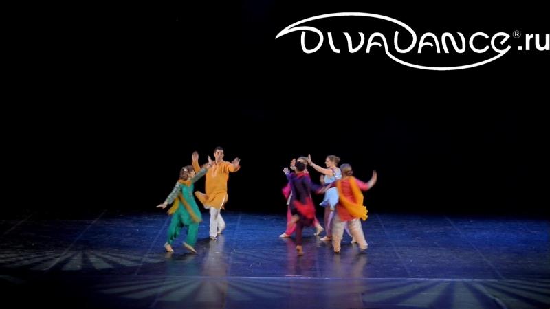 Punjabi индийские танцы - танцевальная студия Divadance