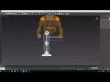 3D Моделирование Золотого Фредди (ФнаФ) Часть 5 (Golden Freddy FNaF)