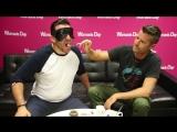 Pete and Manus blind taste test.