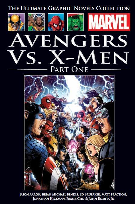 Marvel Официальная коллекция комиксов №125 - Мстители против Людей Икс. Книга 1