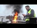 Во Франции акции протеста против роста цен на бензин обернулись беспорядками и стычками с полицией
