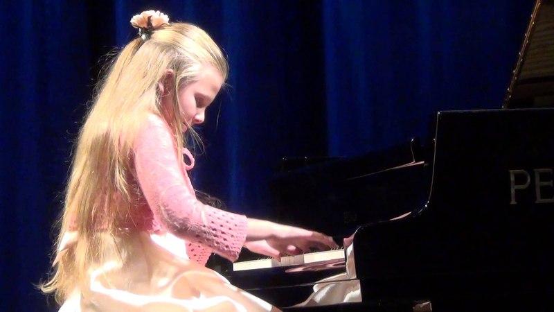 Eva Gevorgyan Bach 3-voice invention D-dur, Haydn Sonata A-dur