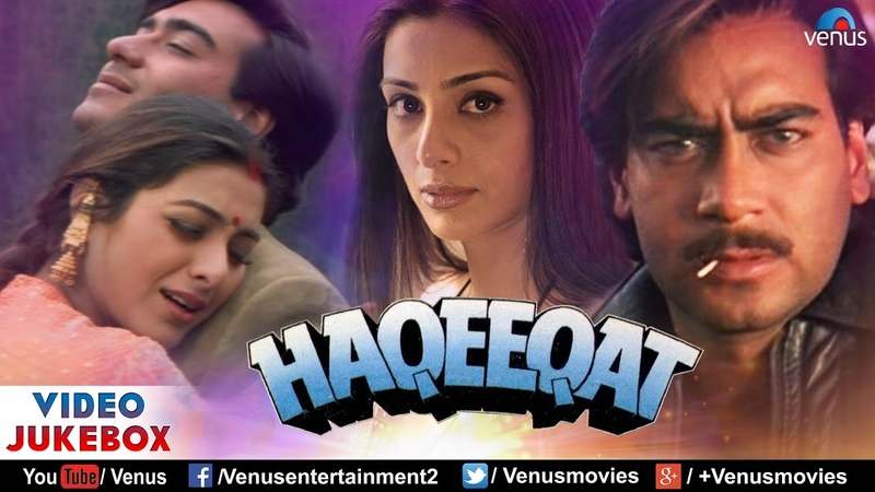 Haqeeqat - Bollywood Hindi Songs | Ajay Devgn, Tabu | Video Jukebox - Bollywood Romantic Hits