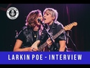 LARKIN POE INTERVIEW TUNED IN PRESS HOUSTON TX 11 7 18