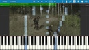 Тёмная душа - По дороге на базу/ Piano Tutorial