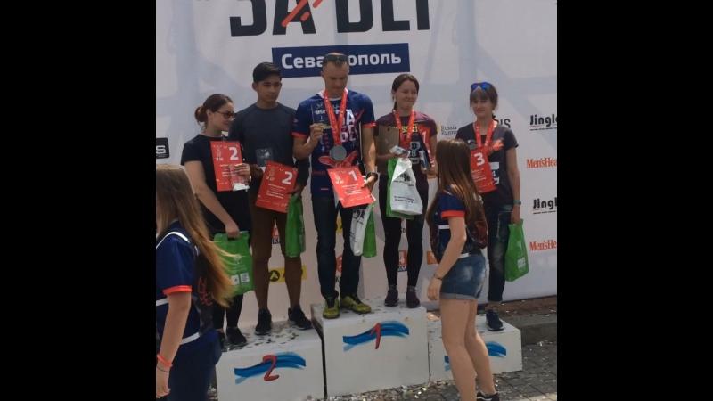 Абсолютный чемпион на 5 км г. Севастополь
