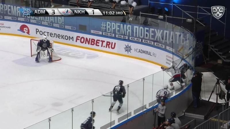 Моменты из матчей КХЛ сезона 17 18 • Адмирал Нефтехимик
