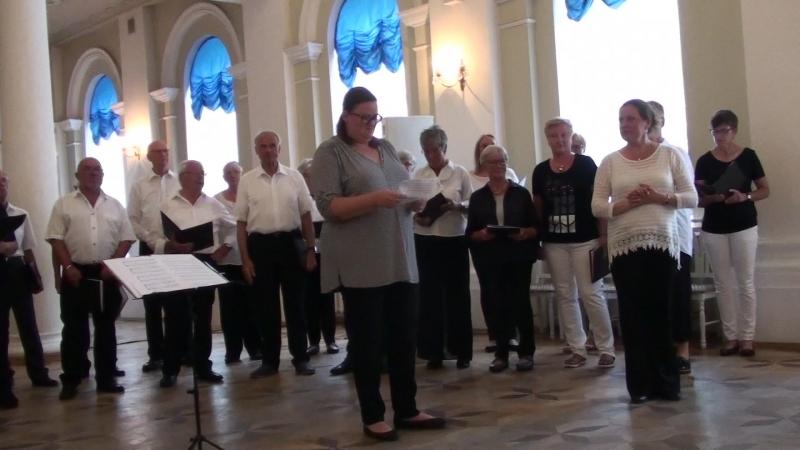 4_Немецкий хор Westfalenchor (дирижёр Татьяна Хундт)