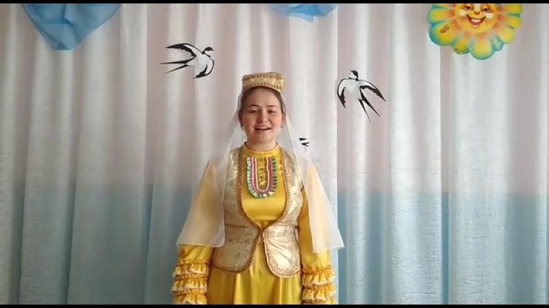 Гиззатуллина Лейсан, ученица 10 класса МОБУ Каранская СОШ МР Буздякский район